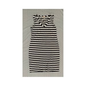 Sleeveless Banana Republic Striped Dress